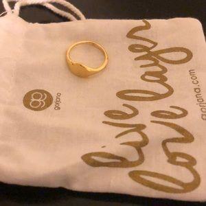 Gorjana signet ring size 5 ring